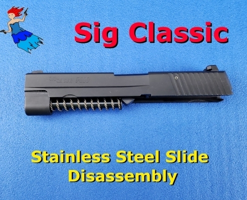 Sig Classic Stainless Steel Slide Disassembly Video post image