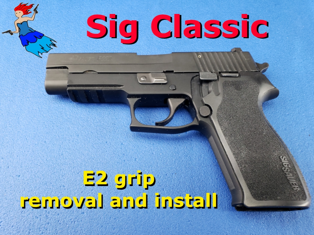 Sig E2 grip removal post image