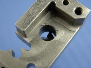 P320 80% Large drill bit hole