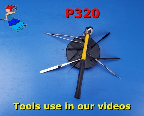 Tools used in the P320 Disassembly and Reassembly post picture