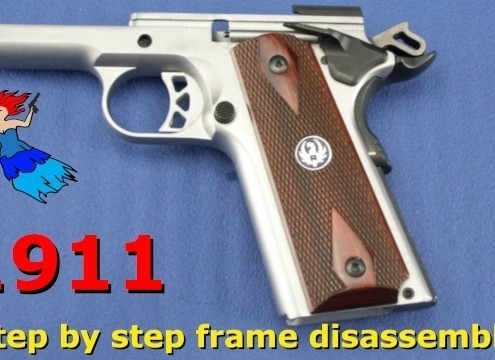 1911 Series 70 Frame Disassembly post image