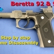 Beretta 92 Frame Disassembly video post image