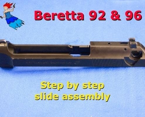 Beretta 92 Slide Reassembly video post image