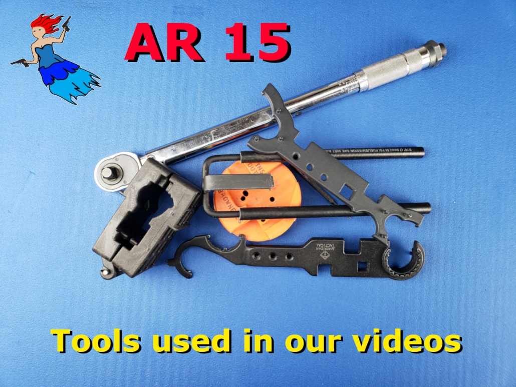 tools used in the AR 15 Videos post image