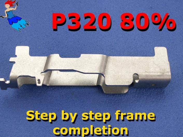 P320 80% Frame Completion video post image