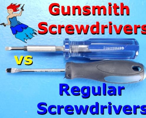 Gunsmith Screwdriver post Tnail