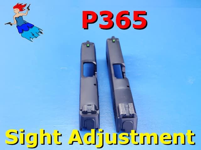 P365 Sight Adjustment post image