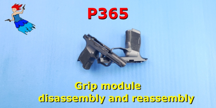 P365 Grip Module disassembly and reassembly