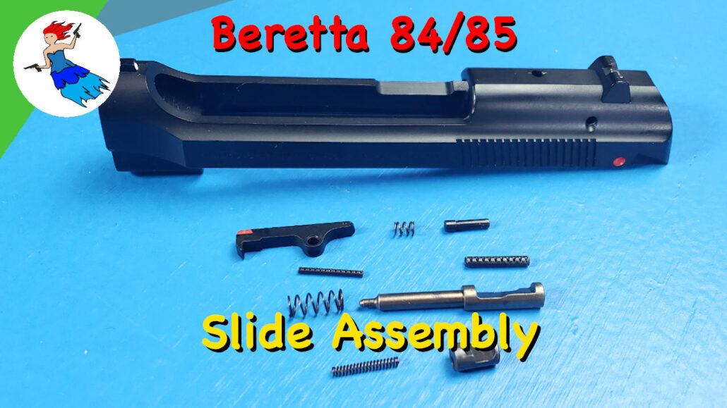 Beretta Cheetah Slide Assembly