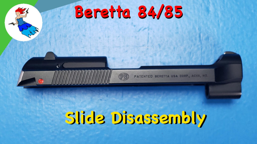 Beretta Cheetah Slide Disassembly