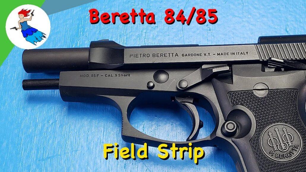 Beretta 84 85 field strip
