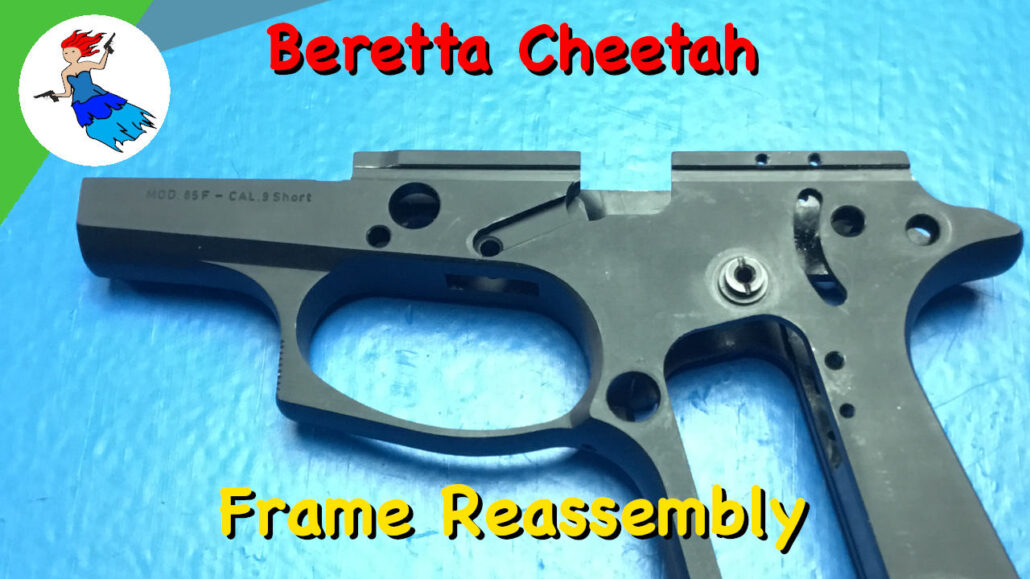 Beretta Cheetah Frame Assembly