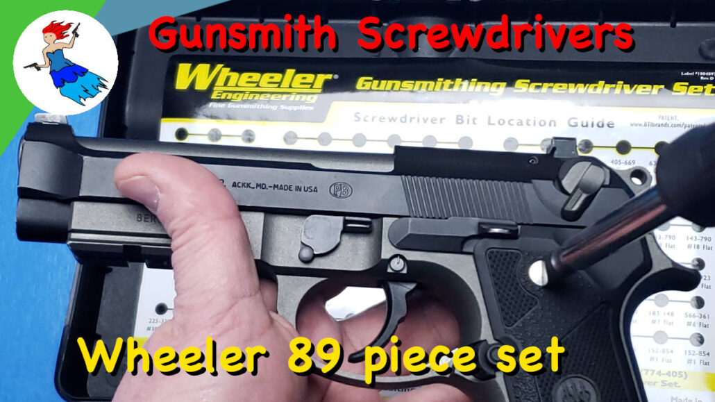 Wheeler 89 Piece Professional Screwdriver