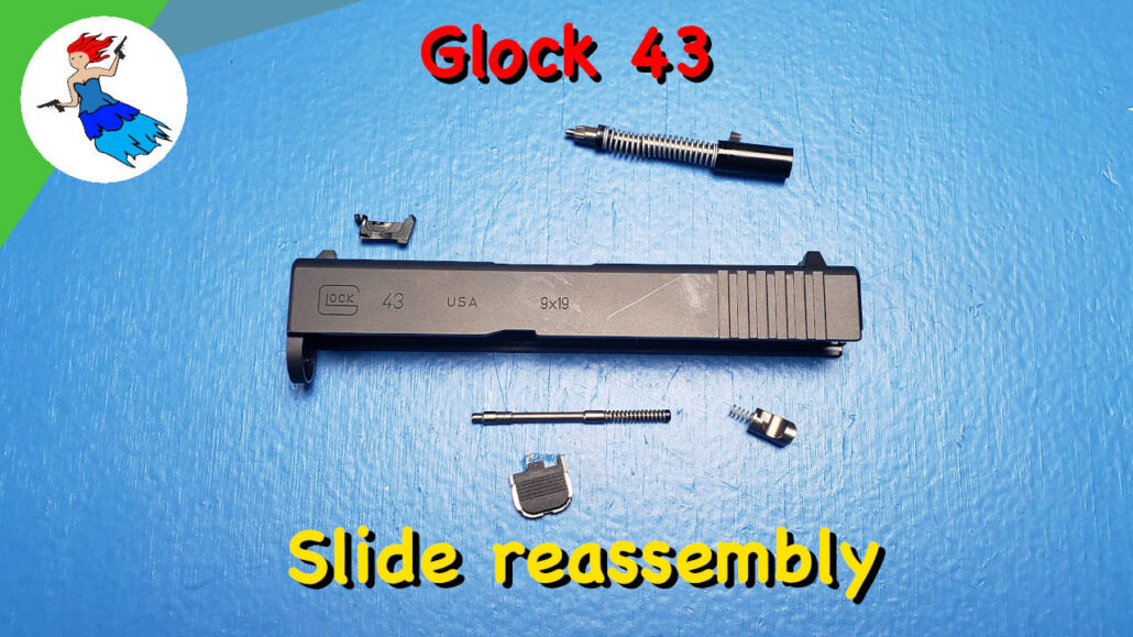 Glock 43 Slide